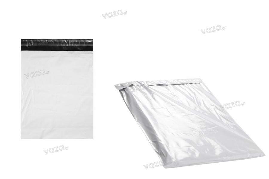 Sac de courrier blanc 250x350 mm avec fermeture autocollant - 100 pcs