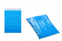 Courier 280x420 mm blue shipping bag with sticker closure - 100 pcs