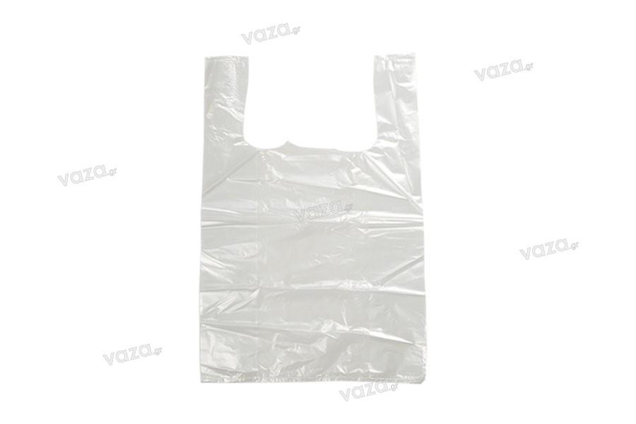 Σακούλα πλαστική 28x40 cm διάφανη - 100 τμχ