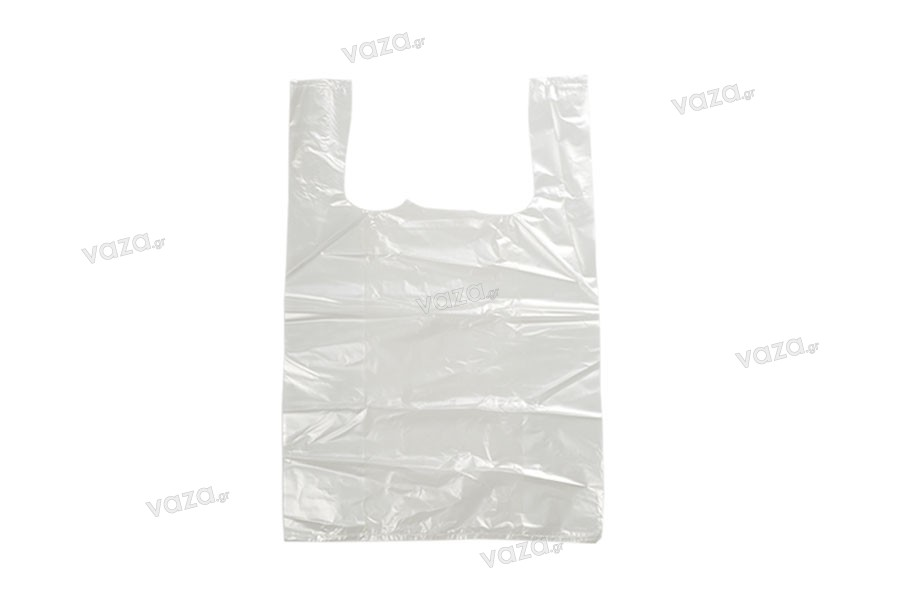 Σακούλα πλαστική 35x53 cm διάφανη - 100 τμχ