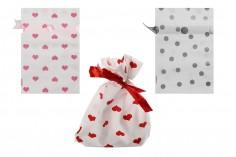 Σακουλάκια πλαστικά  για γλυκά και ζαχαρωτά 120x170 - 50 τμχ