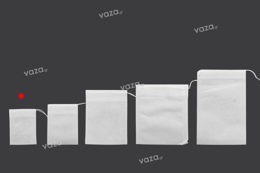 Σακουλάκια για τσάι 55x70 mm - 100 τμχ