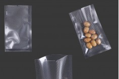 Σακούλες vacuum (κενού αέρος) για συντήρηση - συσκευασία τροφίμων και άλλων προϊόντων 70x120 mm - 100 τμχ