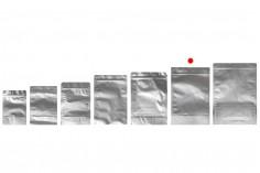 """Σακουλάκια αλουμινίου τύπου Doy Pack 210x50x310 mm με κλείσιμο """"zip"""" και δυνατότητα σφράγισης με θερμοκόλληση  - 100 τμχ"""