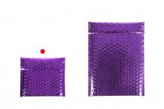 Φάκελοι με αεροπλάστ 13x13 cm σε διάφορες γυαλιστερές αποχρώσεις - 10 τμχ