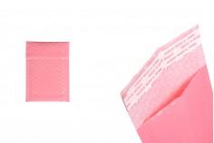 Φάκελοι με αεροπλάστ 9x15 cm σε ροζ ματ χρώμα - 10 τμχ