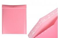 Φάκελοι με αεροπλάστ 23x30 cm σε ροζ ματ χρώμα - 10 τμχ
