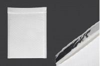 Φάκελοι με αεροπλάστ 18x26 cm σε λευκό ματ χρώμα - 10 τμχ