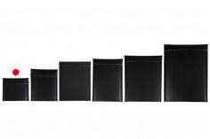 Φάκελοι με αεροπλάστ 13x13 cm σε μαύρο ματ χρώμα - 10 τμχ