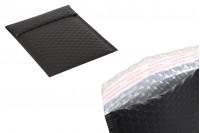 Φάκελοι με αεροπλάστ 13x18 cm σε μαύρο ματ χρώμα - 10 τμχ