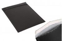 Φάκελοι με αεροπλάστ 18x28 cm σε μαύρο ματ χρώμα - 10 τμχ