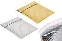 Φάκελοι με αεροπλάστ 13x18 cm σε ασημί ή χρυσό γυαλιστερό χρώμα - 10 τμχ