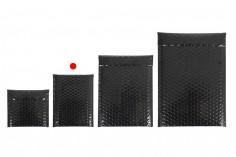 Φάκελοι με αεροπλάστ 13x19 cm σε μαύρο γυαλιστερό χρώμα - 10 τμχ