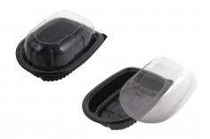 Συσκευασία (σκεύος) πλαστική με καπάκι - 12 τμχ