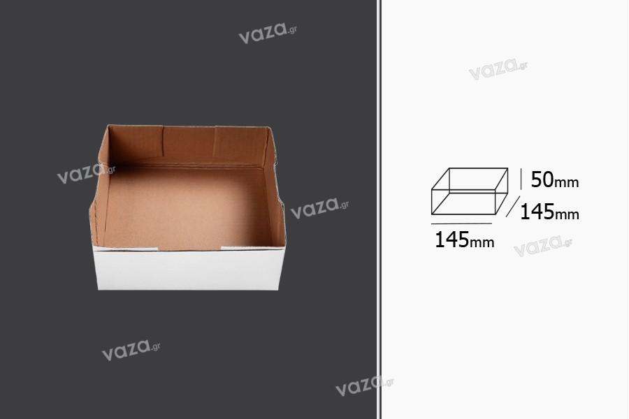 Κουτάκι χάρτινο 145x145x50 mm