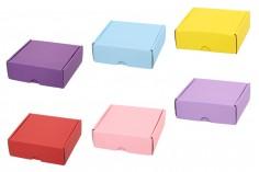 Κουτί συσκευασίας από χαρτί κραφτ 145x135x50 mm - 20 τμχ