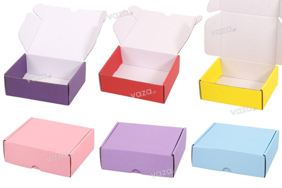 Κουτί συσκευασίας από χαρτί κραφτ 170x130x60 mm - 20 τμχ