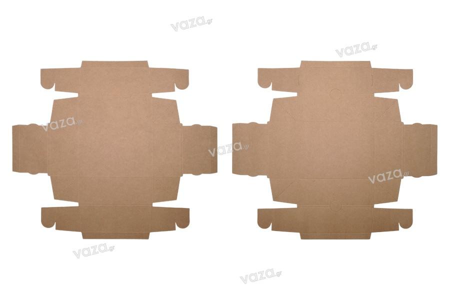 Κουτί συσκευασίας από χαρτί κραφτ χωρίς παράθυρο 170x130x60 mm - 20τμχ