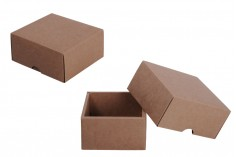 Κουτί συσκευασίας από χαρτί κραφτ χωρίς παράθυρο 130x120x60 mm - 20 τμχ