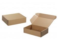 Κουτί συσκευασίας από χαρτί κραφτ χωρίς παράθυρο 280x180x70 mm - 20 τμχ