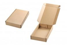 Κουτί συσκευασίας από χαρτί κραφτ χωρίς παράθυρο 130x200x35 mm - 20 τμχ