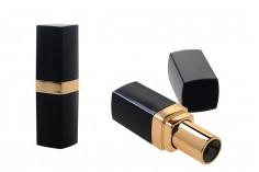 Θήκη για κραγιόν - lip stick σε μαύρο και χρυσό χρώμα