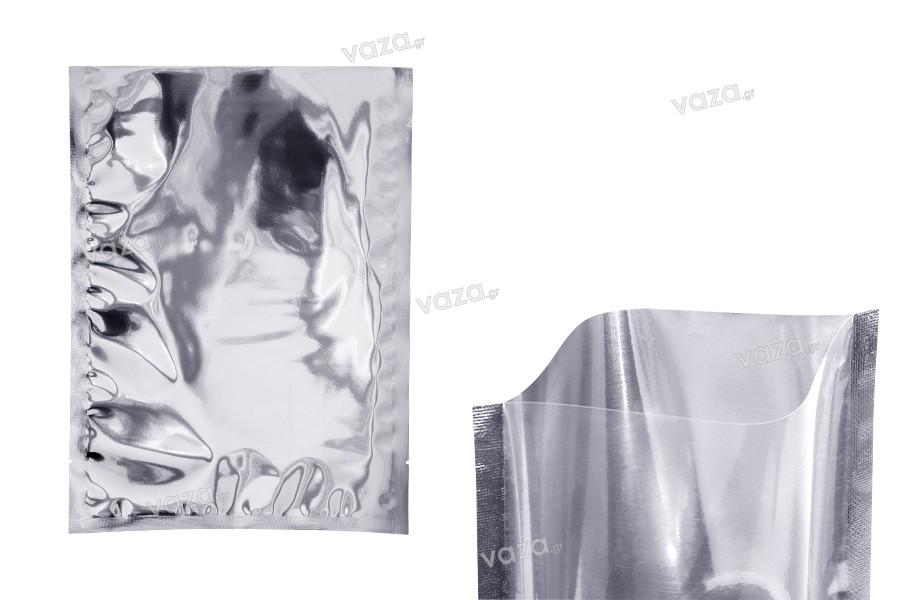 Σακουλάκια αλουμινίου 220x300 mm με δυνατότητα σφράγισης με θερμοκόλληση - 100 τμχ
