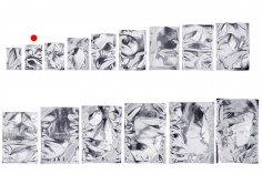Σακουλάκια αλουμινίου 60x90 mm με δυνατότητα σφράγισης με θερμοκόλληση - 100 τμχ