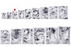 Σακουλάκια αλουμινίου 70x100 mm με δυνατότητα σφράγισης με θερμοκόλληση - 100 τμχ
