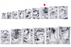 Σακουλάκια αλουμινίου 110x160 mm με δυνατότητα σφράγισης με θερμοκόλληση - 100 τμχ