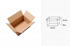 Χαρτοκιβώτιο 28,5x19x16,5 καφέ 3-φυλλο - 20 τμχ