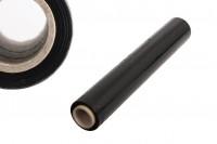 Φιλμ περιτύλιξης παλετών (stretch film) σε μαύρο χρώμα - Πλάτος: 500 mm, βάρος: 1.6kg