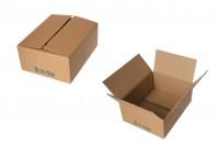 Χαρτοκιβώτιο 25x20x10 καφέ 3-φυλλο - No B11 (25 τμχ)