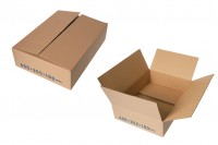 Χαρτοκιβώτιο 40x30x10 καφέ 3-φυλλο - No B16 (25 τμχ)