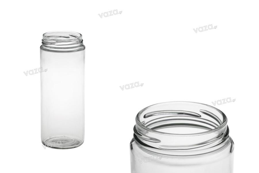 Βάζο γυάλινο σωλήνας 500 ml για τρόφιμα και μπαχαρικά (T.O 63)