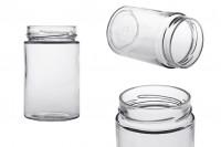 Βάζο γυάλινο κυλινδρικό 370 ml