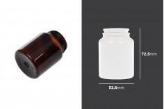 Βάζο πλαστικό PET 100 ml για χάπια και κάψουλες