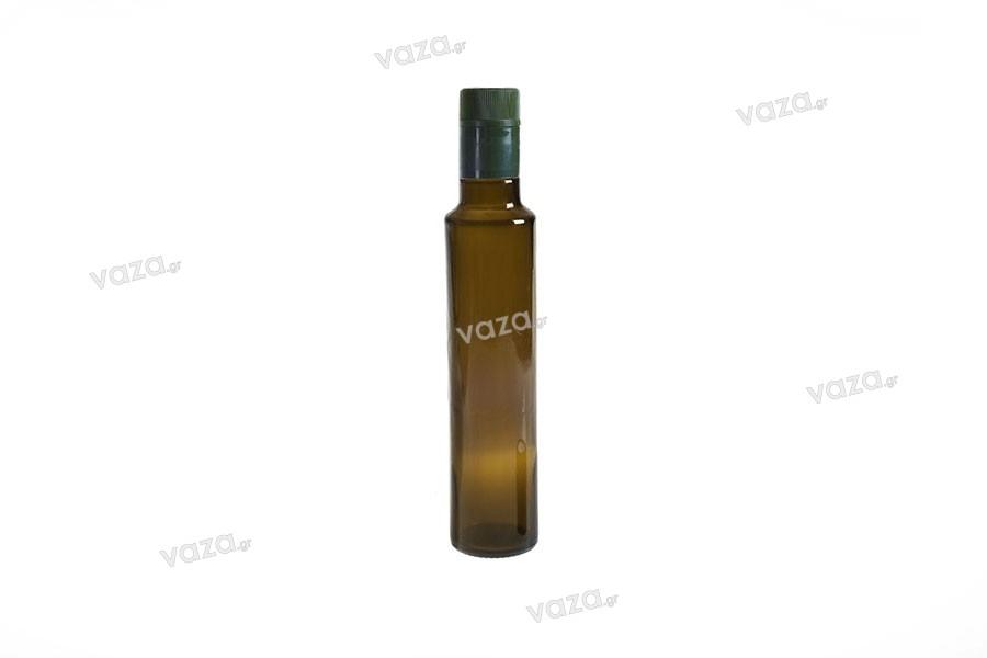 Μπουκάλι γυάλινο Uvag για ελαιόλαδο και ξύδι 250 ml με λαιμό για πώμα ασφαλείας 1031/47 (τύπου Guala)