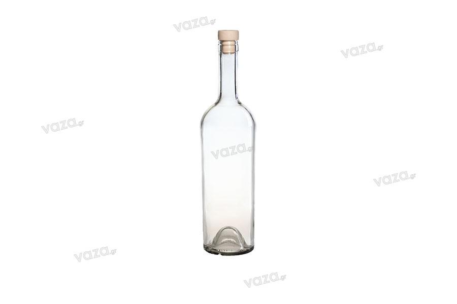 Μπουκάλι για κρασί 750 ml Conica Διάφανο