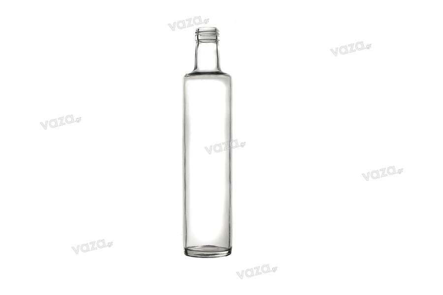 Μπουκάλι για ελαιόλαδο ξύδι και νερό 750 ml Dorica Διάφανο (PP 31.5)